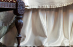 Lili Alessandra Battersea Gathered Bed Skirts - Ivory