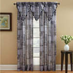 Croscill Jessica Sheer Window Panel - Black