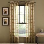Croscill Chimayo Window Panel - Linen