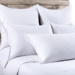 Pom Pom at Home Blair White Duvet Cover
