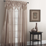 Croscill Tanzania Window Panel - Taupe