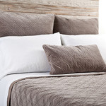 Pom Pom at Home Brussels Walnut Coverlet