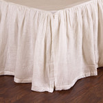 Pom Pom at Home Linen Voile Bed Skirt - Cream