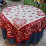 Jacquard Weave French Tablecloth - Chamonix Tapestry