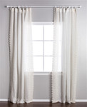 Pom Pom at Home Annabelle Cream Curtain