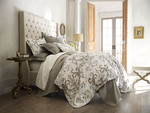 Peacock Alley Alena Duvet Cover - Linen