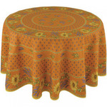Provence Cotton Tablecloths - Sunflower Orange