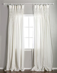Pom Pom at Home Smocked Cream Curtain