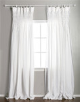 Pom Pom at Home Smocked White Curtain