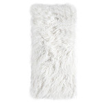 Pom Pom at Home Eva Throw - Winter White