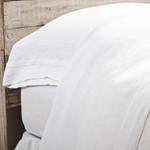 Pom Pom at Home Louwie Flat Sheet - White