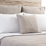 Pom Pom at Home Antwerp Coverlet & Sham - Natural