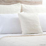 Pom Pom at Home Antwerp Coverlet & Sham - Cream