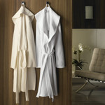 Kassatex Luxury Diamond Robe - White