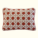 Nostalgia Home Folk Art Oblong Lattice Pillow