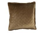 Lili Alessandra Chloe Straw Velvet Euro Pillow
