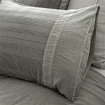 Pom Pom at Home Quinn Grey Pillow Sham
