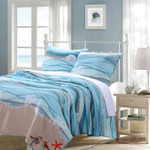 Greenland Home Maui Quilt Set