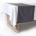Pom Pom at Home Jules Table Runner - Slate