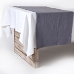 Pom Pom at Home Olivier Table Runner - Slate
