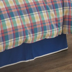 Southern Tide Prep School Plaid Bed Skirt