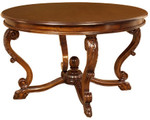 Laurel Crown Animal Paw Round Table