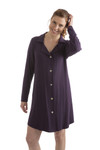 Bamboo Dreams® Lainey Nightshirt - Nightshade