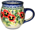 Boleslawiec Polish Pottery Bubble Mug - Summer Day