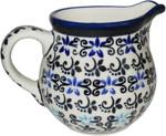 Boleslawiec Polish Pottery Creamer/Milk Jug - Martina