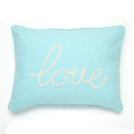 Levtex Love Pillow - Teal