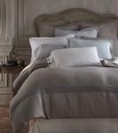 Amity Home Henley Linen Duvet Cover - Gray