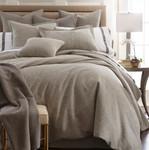 Amity Home Ada Jacquard Duvet Cover - Grey