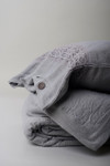 Amity Home Henley Linen Pillow Sham - Gray