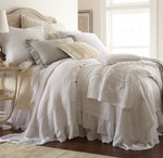 Amity Home Bellamy Duvet Cover - White