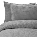 Kassatex Paloma Pillow Sham - Aluminum