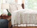 Greenland Home Bella Ruffle Quilt Set