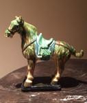 Tang Sancai Glazed Horse