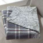 DownTown Company Lexington Cotton Throw