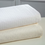 DownTown Company Paula Coverlet - Ivory