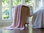 Lili Alessandra Coco Blush sheer Throw