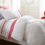 Amity Home Lily Duvet Cover - White