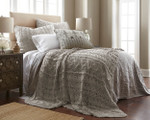 Amity Home Micah Knitted Coverlet - Grey