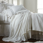 Amity Home Grace Matelassé Coverlet - White