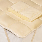 DownTown Company Wool Filled Mattress Pad