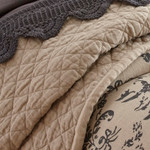 Amity Home Dale Linen Quilt - Natural