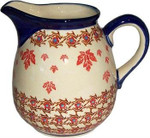 Boleslawiec Polish Pottery 1L Pitcher - Autumn