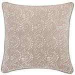 Luxe Vita Linen Zinc Decorative Pillow