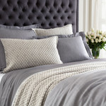 Luxe Massimo Silver Heather Duvet Cover