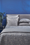 Ann Gish Arabesque Duvet Cover Set - Silver