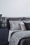 Ann Gish Arabesque Duvet Cover Set - Charcoal